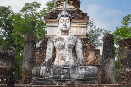 Z wizytą w Sukhothai, czyli zwiedzanie świątyń na rowerze