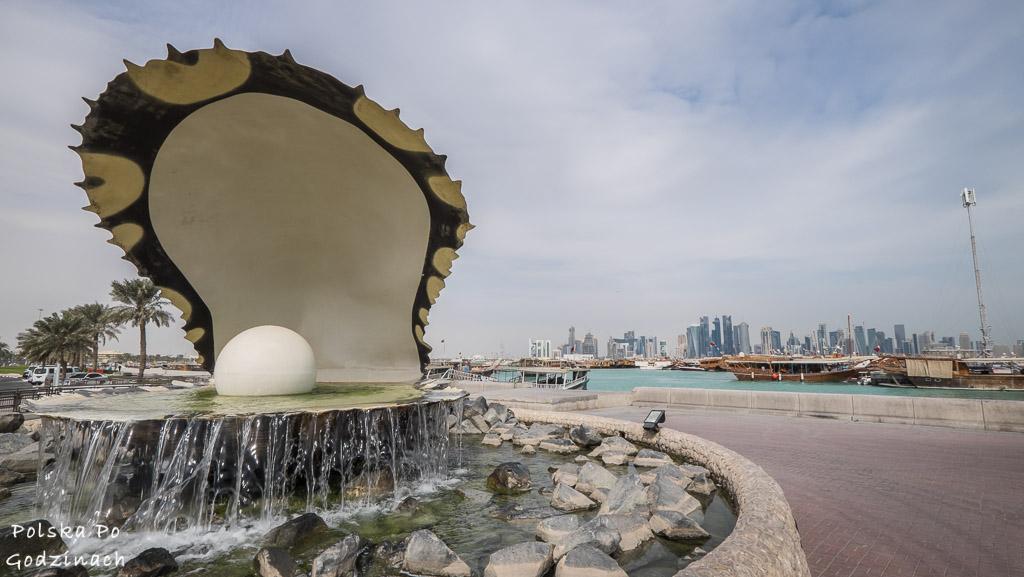 pomnik perły w Doha