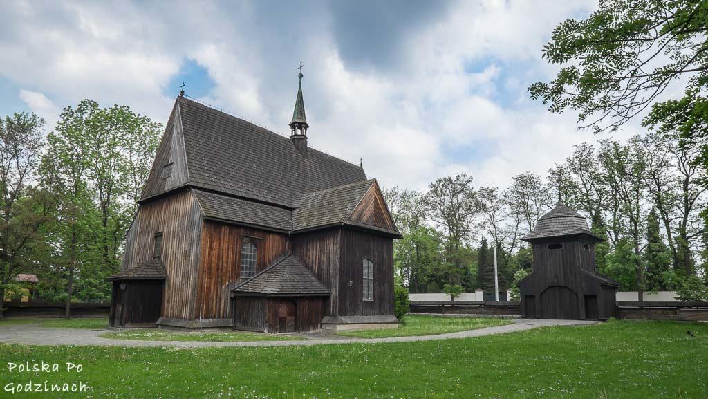 drewniany kościół św. Bartłomieja w Mogile