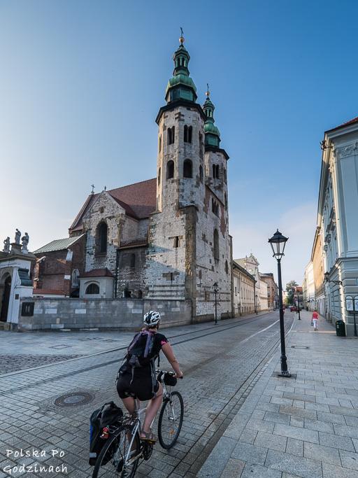 rowerem po Krakowie wśród zabytków Starego Miasta