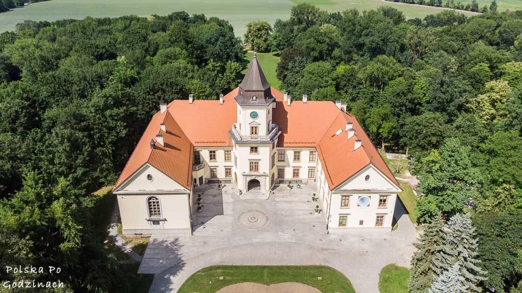 Pałac w Dzikowie w Tarnobrzegu