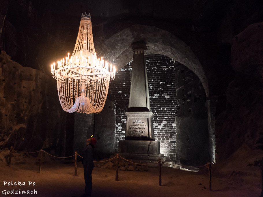Komora karl franz w kopalni soli wieliczka