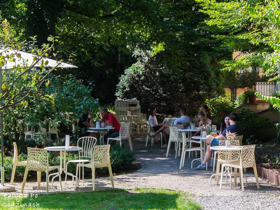 ogród Meho Cafe na Krupniczej