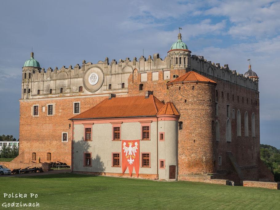Zamek w Golubiu.