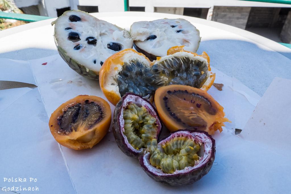 Egzotyczne owoce są atrakcją Madery.