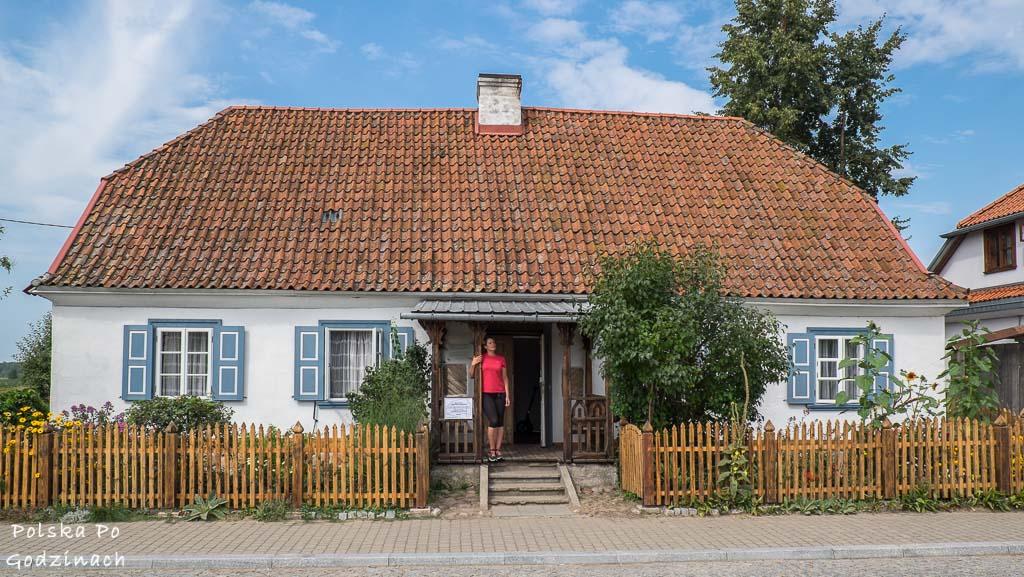 Zabytkowa, drewniana architektura Tykocina to atrakcja Podlasia.