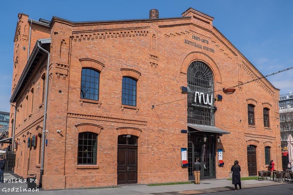 Budynek Muzeum Polskiej Wódki