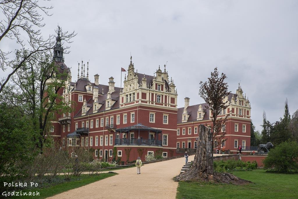 Pałac w Bad Muskau to najwięszka atrakcja Parku Mużakowskiego