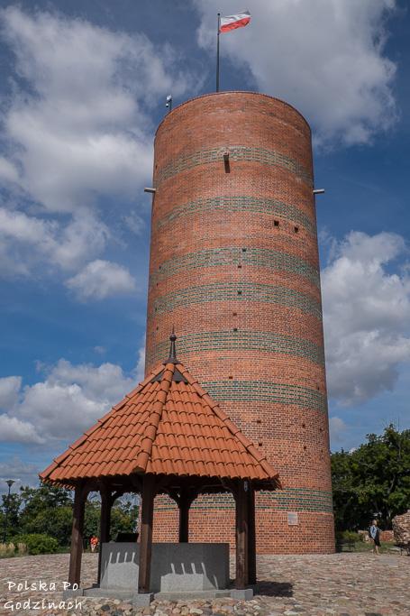 Wieża Klimek to świetny punkt widokowy w Grudziądzu.