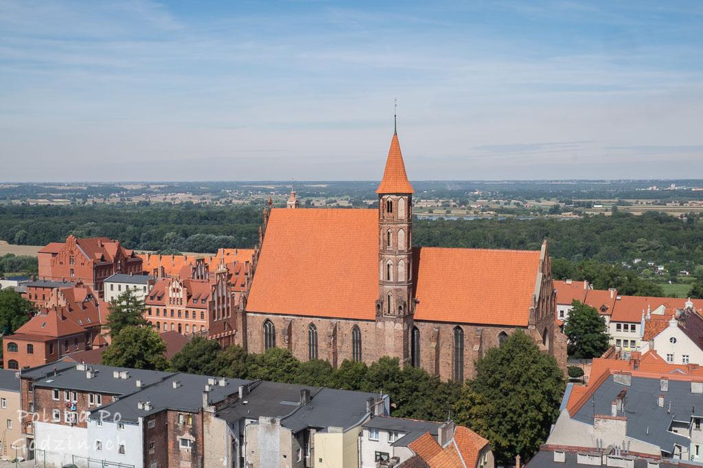 Liczne gotyckie kościoły to atrakcja Chełmna.