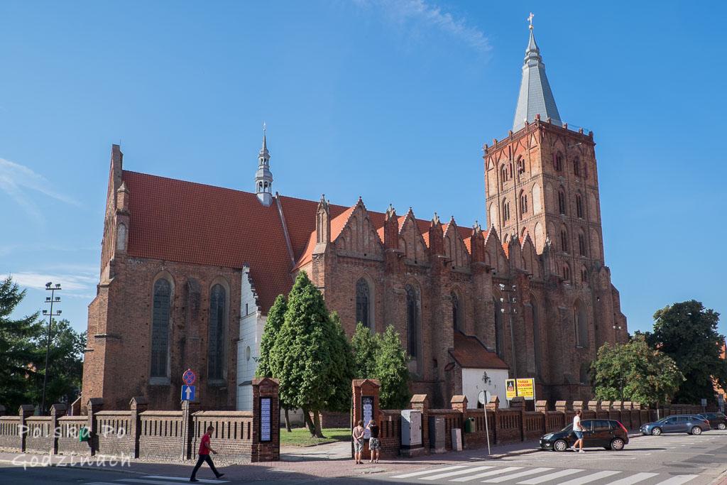 Jedna z głównych atrakcji Chełmna, Potężny Kościół Wniebowzięcia Najświętszej Maryi Panny