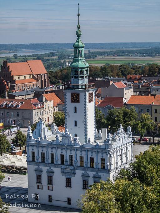 Piekny Ratusz to coś co zdecydowanie warto zobaczyć w Chełmnie.