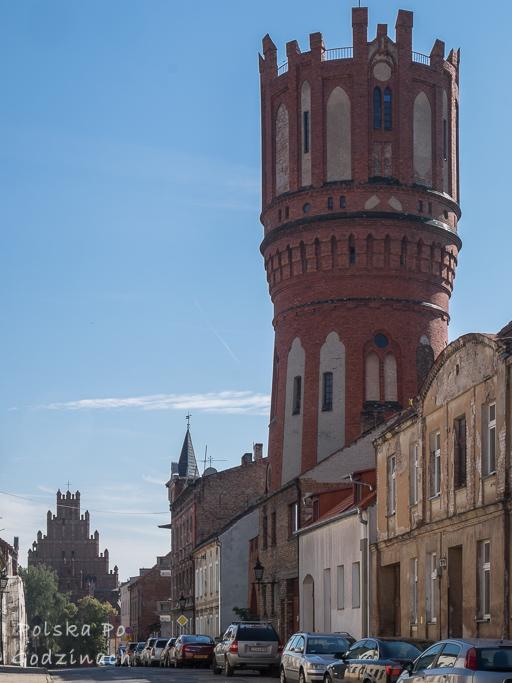 Wieża ciśnień w Chełmnie.