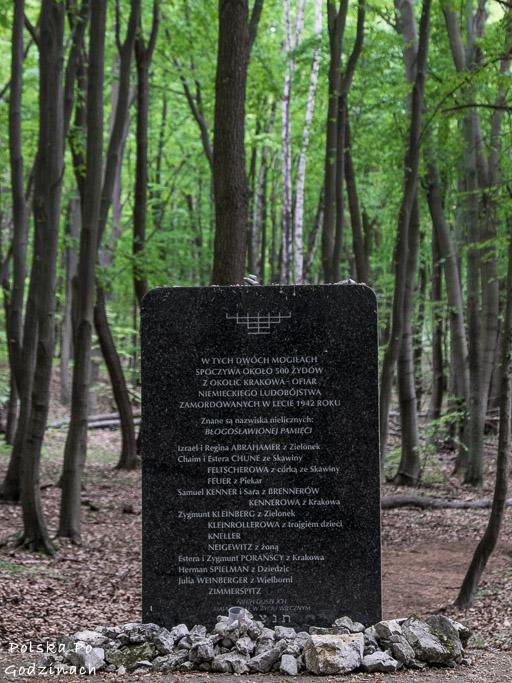 mogila-pomordowanych-zydow-las-tyniecki