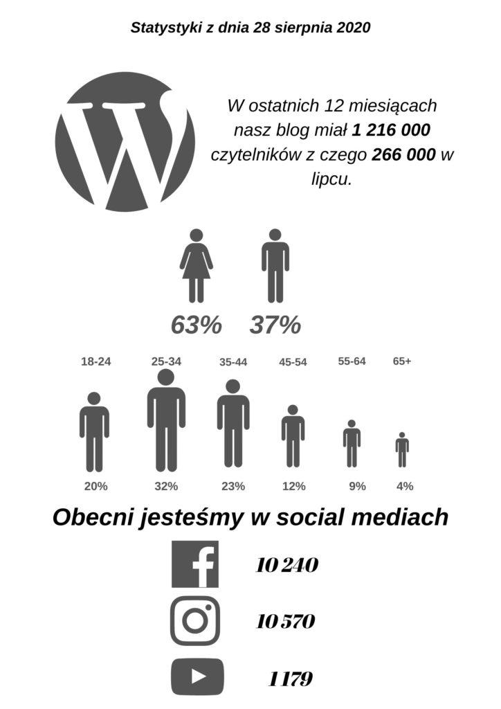 statystyki bloga polska po godzinach