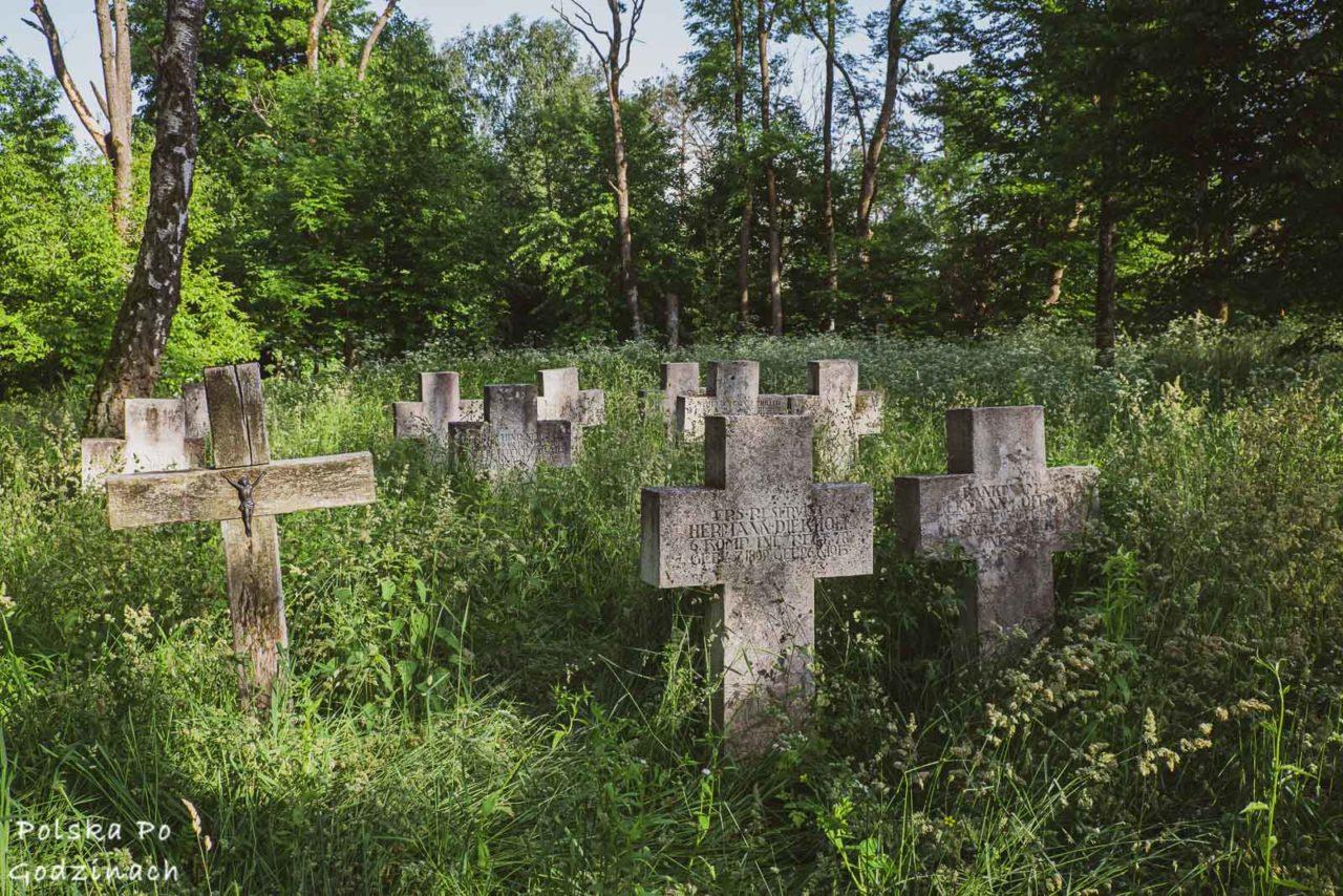 cmentarz na wzgórzu monastyr na roztoczu wschodnim