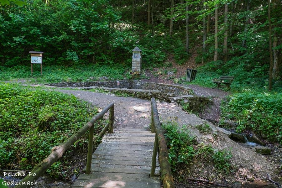 dolina eliaszówki i źródło proroka eliasza